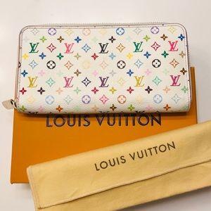 LOUIS VUITTON Multicolore Zippy Wallet w box